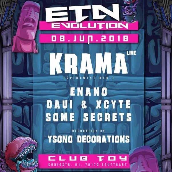 Tomorrow we 🤘 #Stuttgart #ToY #Krama #made_in_dancefloors