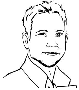 Lead User: Enzo, 35 Jahre, überdurchschnittliches Einkommen, entdeckender Charakter, techniknahe Berufe, sehr hohes Bildungsniveau