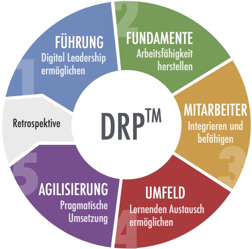 Methodisches Fundament: Das digitale Befähigungsmodell DRP von QUANTIC Digital und Fraunhofer Institut IVI