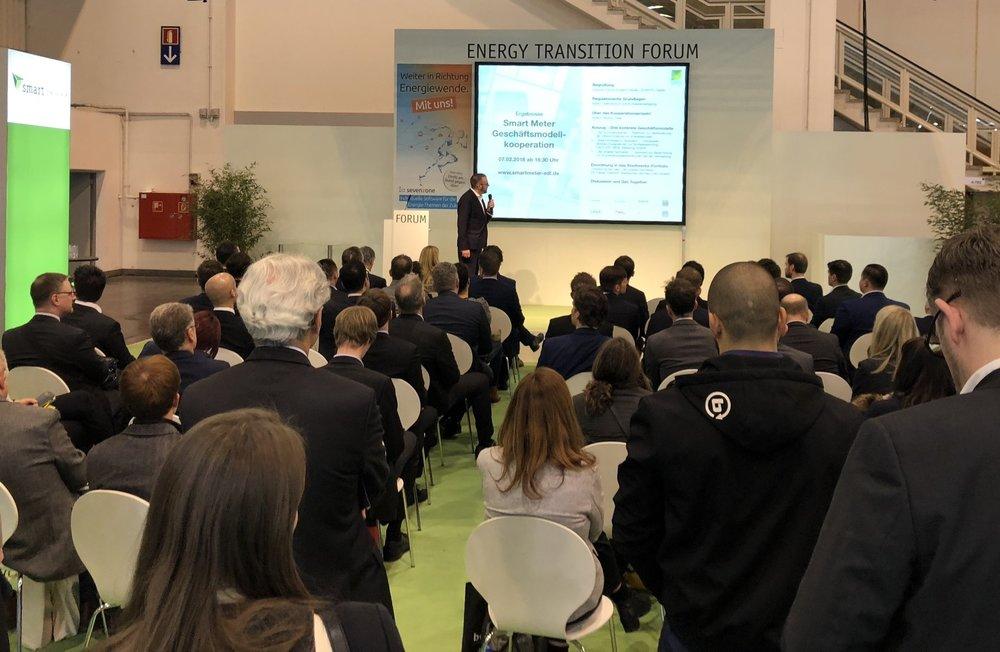 Präsentation der Smart Meter Geschäftsmodelle