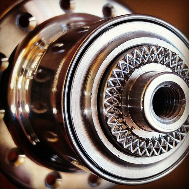 It's all in the detail.  @whiteind  #handbuiltwheels #wheelbuilding