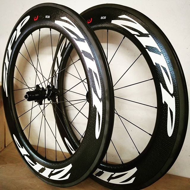 B I G Stickers small (relatively) price.  Last pair of our ZIPP rental fleet are up for sale. Absolutely mint condition pair of 2017 808 Firecrest with not a mark on them. Less than 30 miles of use.  Over £1600 normally but I'll let them go for £1175 ovno + postage if necessary.  Collect them and I'll fit your block, brake pads, and tune the gears.