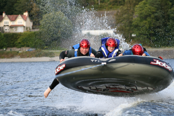 Adrenaline Water Sports on Loch Lomond
