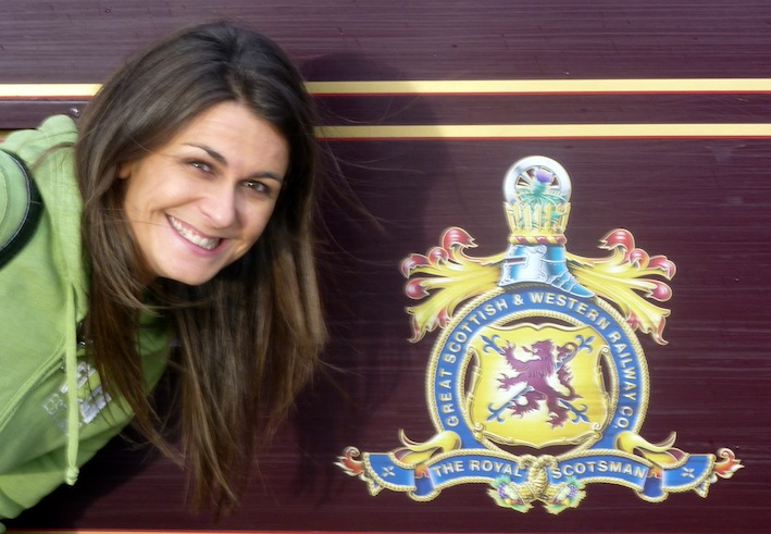 Kirsty & The Royal Scotsman