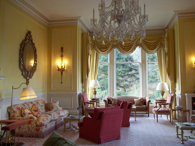 Inverlochy Castle Drawing Room