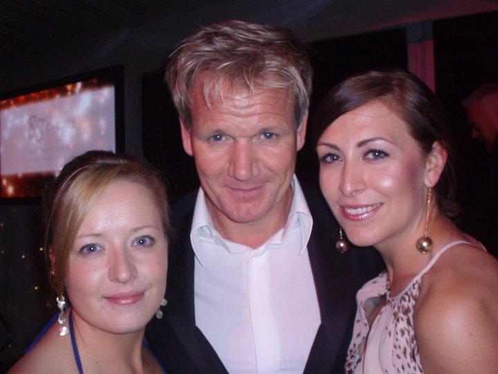 Sarah, Gordon Ramsay & Lisa
