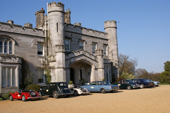 Classic Cars at Dundas Castle