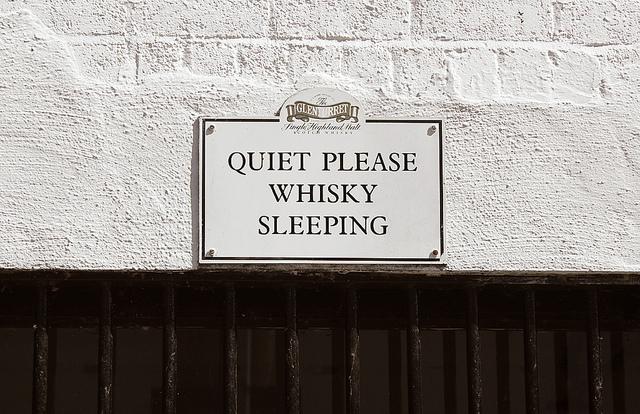 Whisky Sleeping