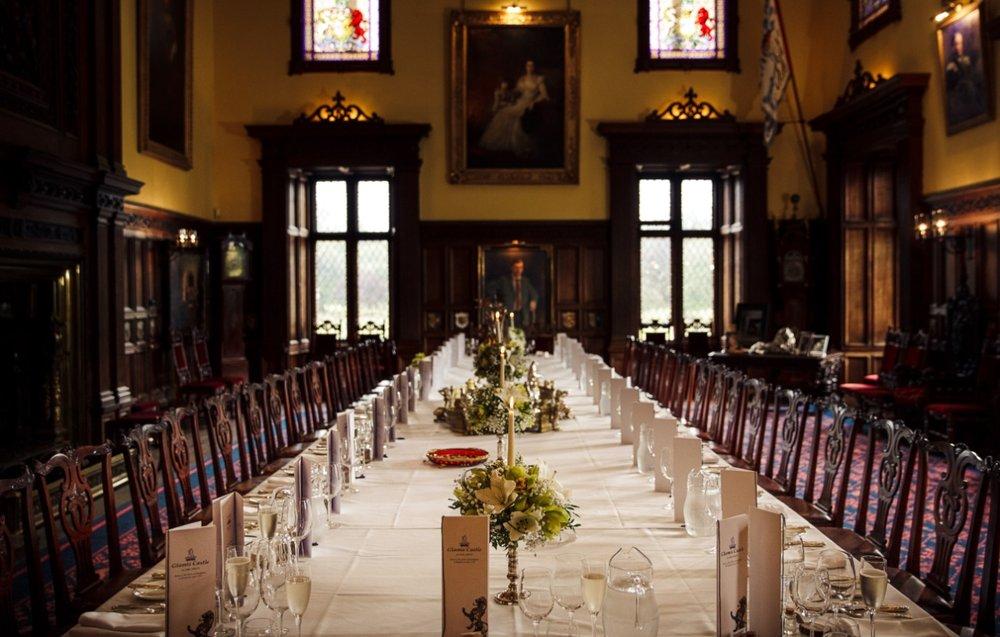 Glamis-castle-dinner