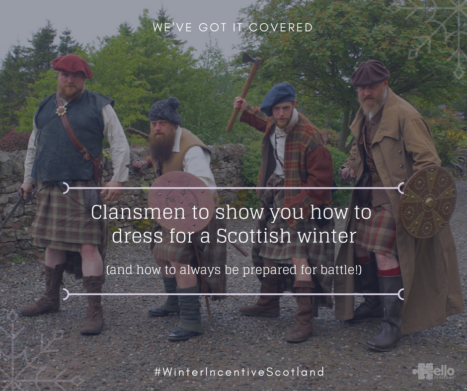 Winter Incentive Scotland - clansmen