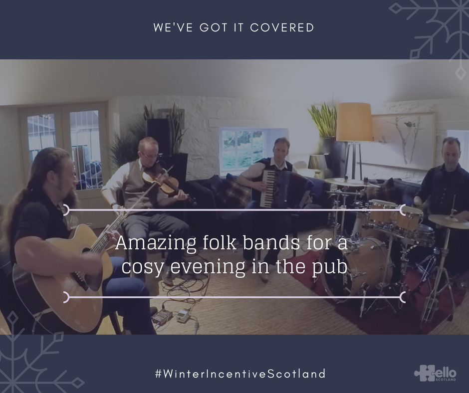 Winter Incentive Scotland - folk band