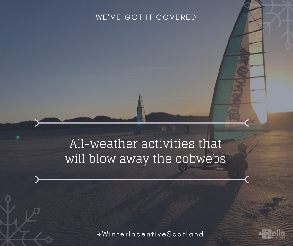 Winter Incentive Scotland - land yacht