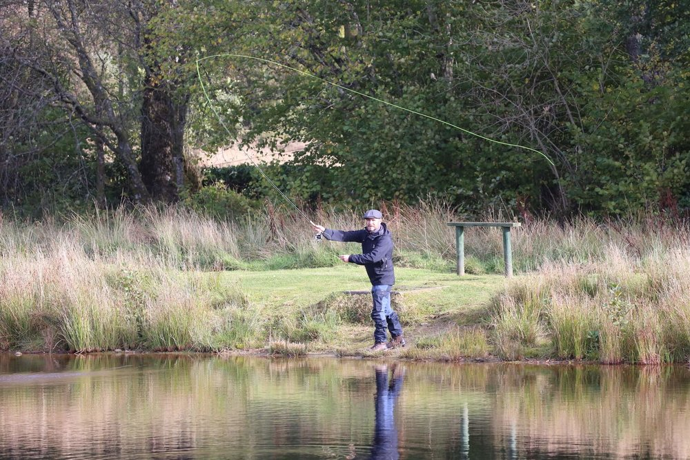 fishing - incentive activity scotland