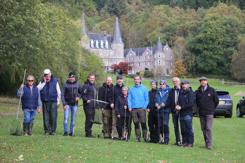 fishing - group incentive activity scotland