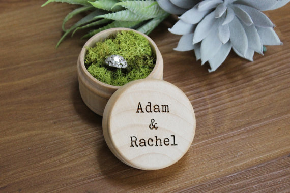 This customizeable gorgeous wooden box is carefully laser engraved by expert craftsmen. -- via etsy