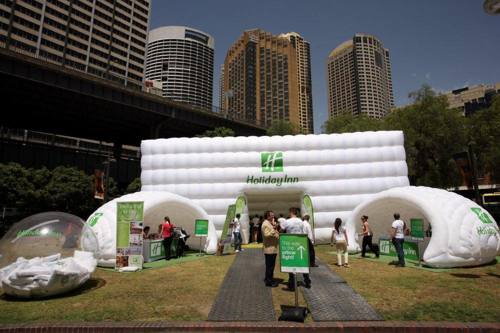 Holiday inn brand activation
