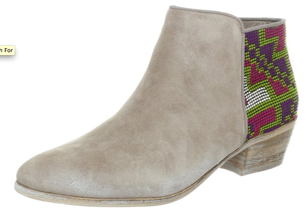 Sam Edelman detailed bootie- $48 (was $160)