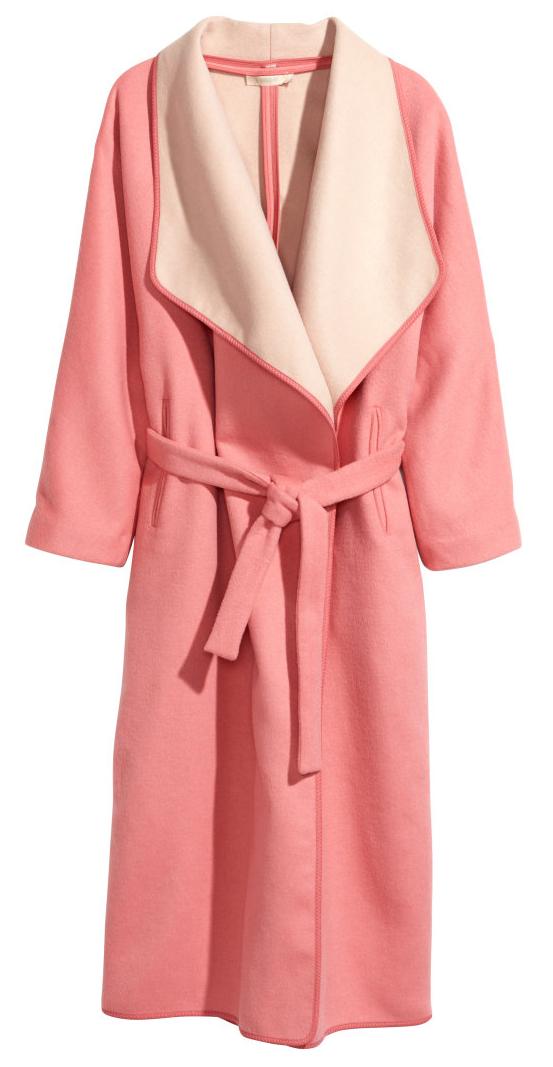 H&M wrap coat- $149