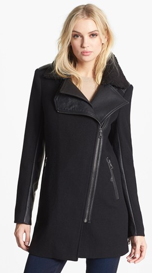 Sam Edelman Leigh moto coat- $119 (was $240)