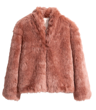 Faux-fur jacket- $30