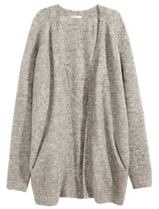 Mohair-blend cardigan- $40