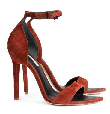 Suede sandals- $50