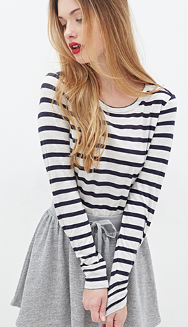 Forever 21 viscose/wool tee- 13.90