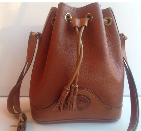 Vintage Dooney & Bourke bucket bag- $96