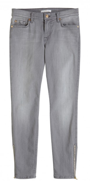 Seven for All Mankind grey skinny jeans- $36 (was $225)