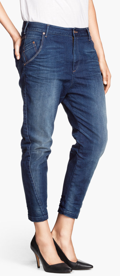 H&M drop crotch jeans- $39.95