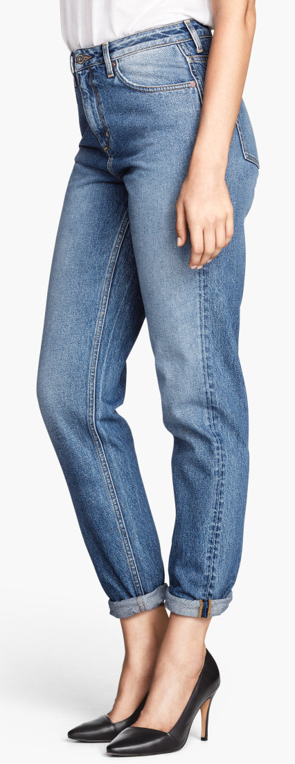 H&M mom jeans- $39.95