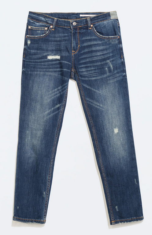 Zara relaxed jeans- $79