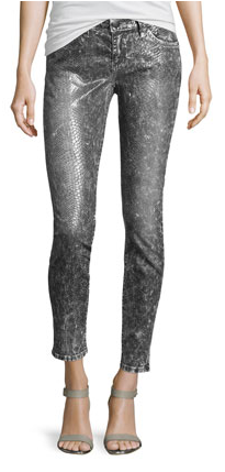 Current/Elliott snake print jeans- $71 (was $278)
