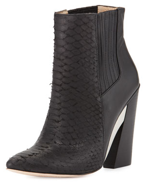BCBG architectural bootie- $167 (was $350)