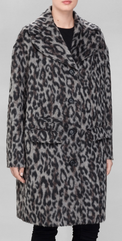 & Other Stories leopard coat- $175