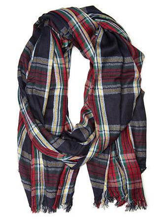 Forever 21 tartan plaid scarf- $10.80