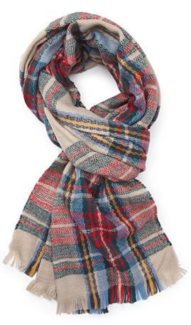 Forever21 tartan scarf- $12.80