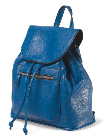 Faux leather backpack, Kensie via TJMaxx- $39.99