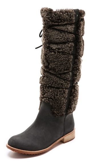 "Matt Bernson ""Apenglow"" shearling boots- $129.99 (was $524)"