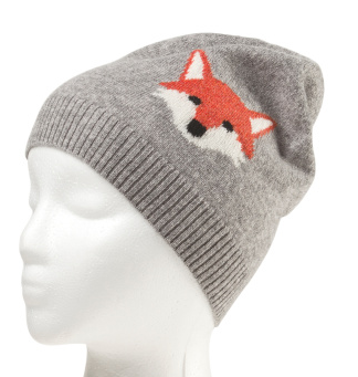 Cashmere fox hat- $29.99