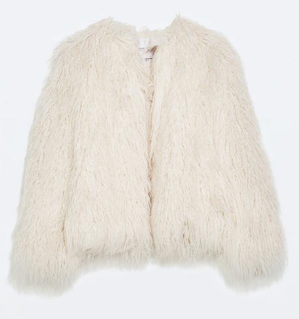 Faux fur jacket- $39.99 (was $149.90)