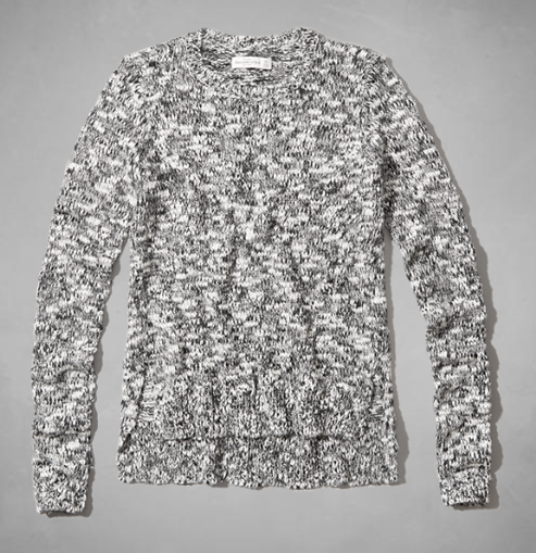 Wool-blend marled sweater- $27 (was $68)