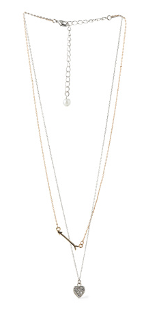 Heart and Arrow necklace- $19.99 (was $55)