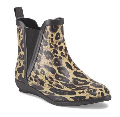 Capelli matte leopard rain boot- $15