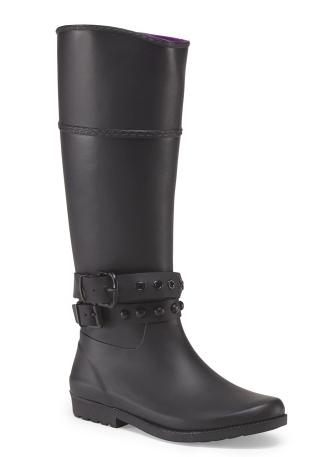 Henry Ferrera matte rain boot- $29.99