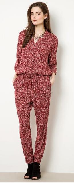 Maison Scotch batik print jumpsuit- $39.99 (was $214)