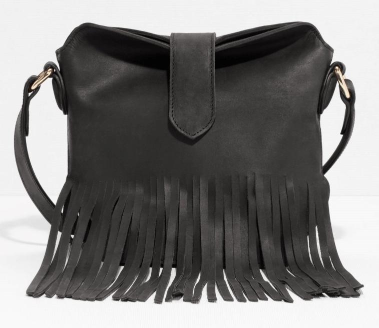 & Other Stories fringed handbag- $120