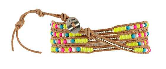 Chan Luu neon bead wrap bracelet- $59.99 (was $195)
