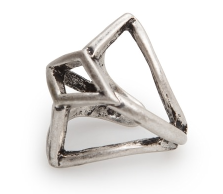 Geometric ring- $4.99 (was $19.99)