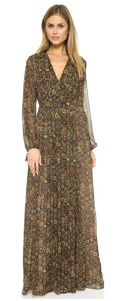 "Ronny Kobo ""Tapestry"" dress- $98 (was $498)"